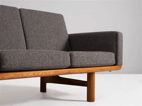hans wegner 236 sofa hans j wegner sofa model ge 236 4 for getama for sale at