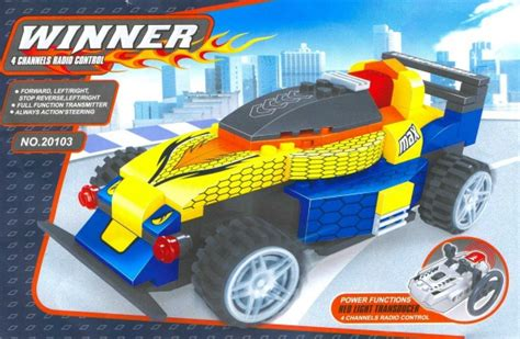 Ausini Winner 20109 Indo bricker construction by ausini 20103 rc car
