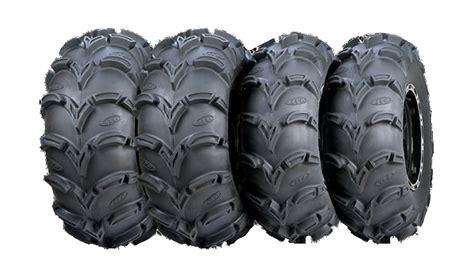 itp mud light tires 27 quot itp mud lite xl atv utv tires complete set of 4