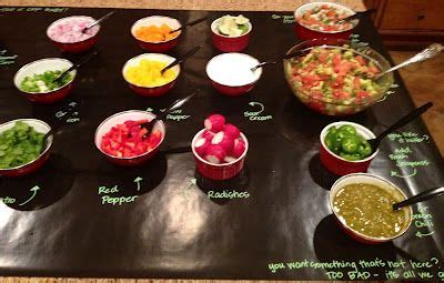 Taco Bar Topping Ideas by The Taco Nacho Bar Tip Quot How To Make The Taco