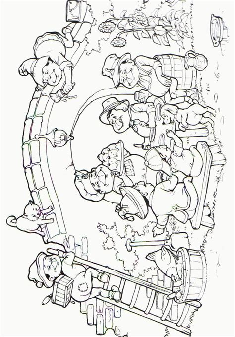 coloring page amusement park coloring pages 18