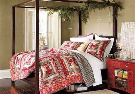 christmas themed bedroom christmas themed bedding for a cozy bedroom