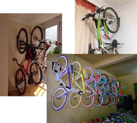 dirza bike rack garage wall mount bike hanger storage