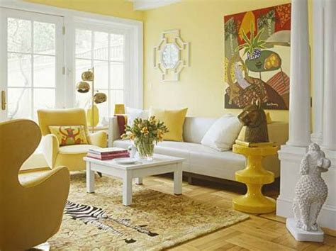 yellow living room walls living room bright yellow wallpaper decoration for