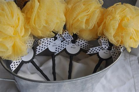Bumble Bee Baby Shower Favors by Bumble Bee Baby Shower Favor Rattle With Tag By Kristinswhimsy