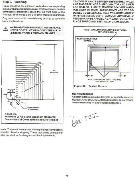 Fireplace Clearance Requirements by Woodworking Building Code Fireplace Mantel Plans Pdf