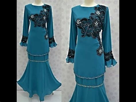 Baju Retro Polkadot baju muslim model terbaru gamis baju polkadot baju kurung moden