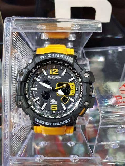 harga jam tangan  ziner water resist jam tangan pria