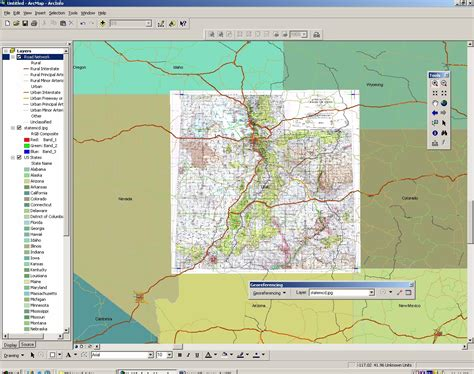 tutorial georeferencing arcgis geomatics tools georeferencing an image using arcgis