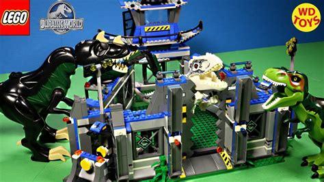 Frame Lego Jurassic World New Lego Jurassic World Indominus Rex Breakout Stop Motion