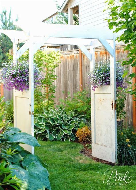 Garden Arch Made From Doors 25 Best Ideas About Door Arbor On Garage Door