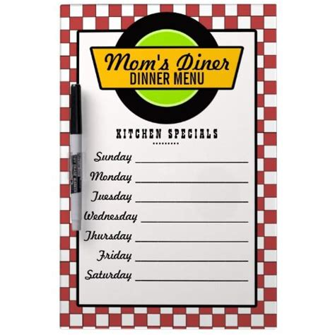 17 Best Images About Diner Menu S On Pinterest Arabic Food Diners And Melamine Tray 50s Diner Menu Templates Free