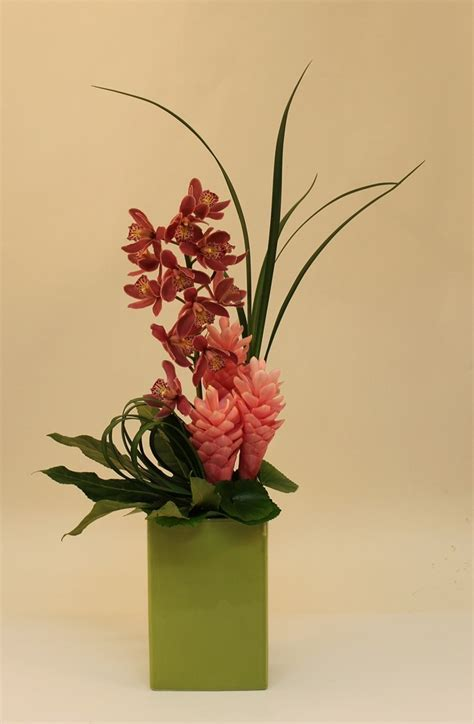 Ginger and Cymbidium Orchids   Corporate   Cymbidium