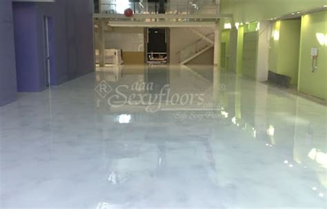 Marble Look Concrete Flooring from Eco Friendly Sexy Floors
