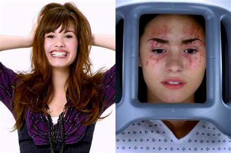 demi lovato and disney channel 10 disney channel stars who had other surprisingly dark roles