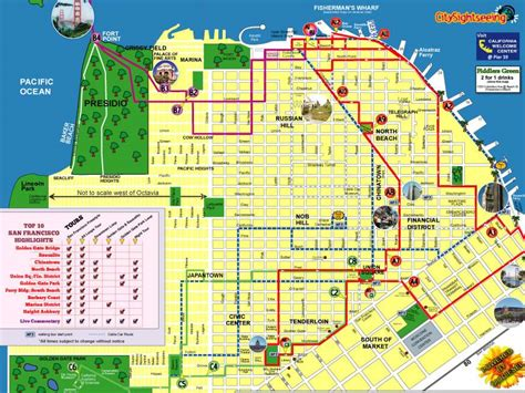 san francisco map attractions pdf maps update 1200591 tourist attractions in san francisco