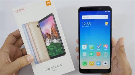 xiaomi redmi note 5 smartphone unboxing overview