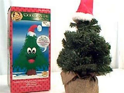talking xmas tree electronic software douglas fir talking tree alternative