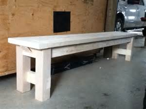 farmers bench ana white farmhouse bench diy projects
