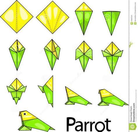 membuat kerajinan kertas origami berbagai jenis origami binatang kerajinan tangan lipat
