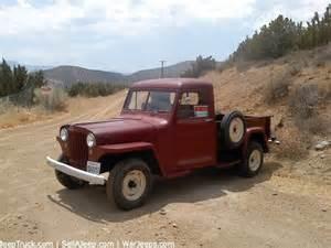 Jeep Truck Parts Willys Jeep For Sale On Craigslist Autos Weblog