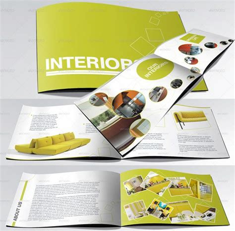 a5 brochure template a5 booklet catalogue brochure layout using circles