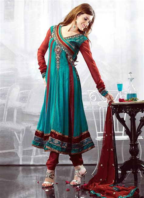design dress image latest angrakha style dress designs for women 2017 2018