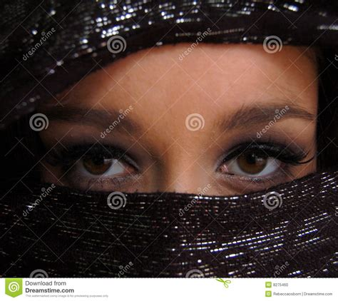imagenes ojos mujeres arabes ojos 225 rabes foto de archivo imagen 8275460