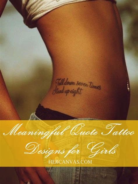 tattoo designs for women quotes 25 meaningful quote designs for