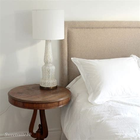 Studded Headboard Diy by Tufted And Studded Upholstery Details For Elevated Design