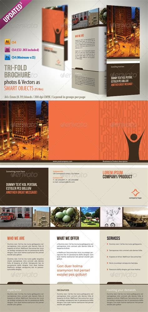 a4 tri fold brochure template discover and save creative ideas