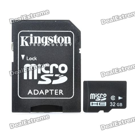 Micro Sd Class 6 32gb class 6 micro sd tf card with sd card adapter free shipping dealextreme