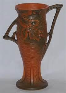 roseville pottery bushberry russet vase for sale