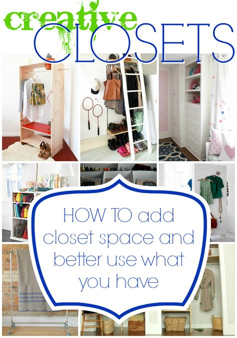What Do I Need In Closet by Remodelaholic 14 Creative Closet Solutions To Organize