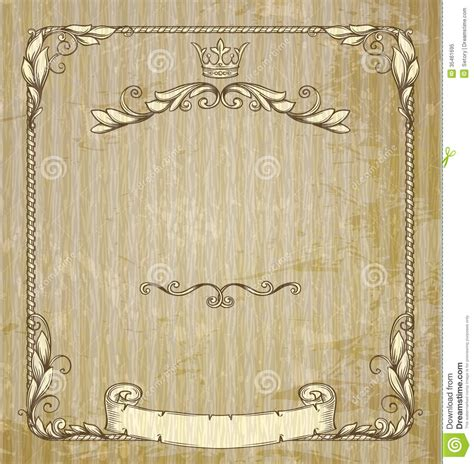 vintage banner royalty free stock photo image 35461695