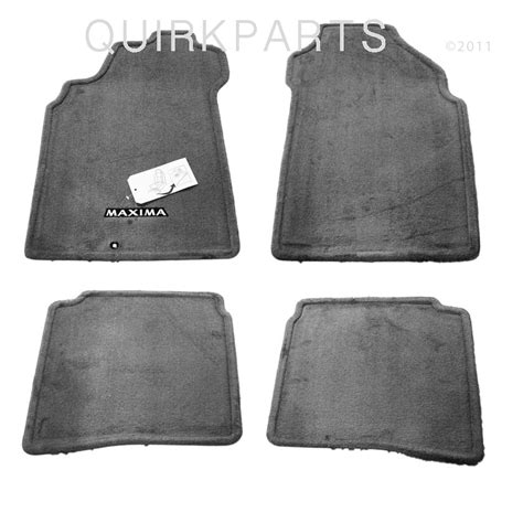 2001 2003 nissan maxima black carpeted floor mats front
