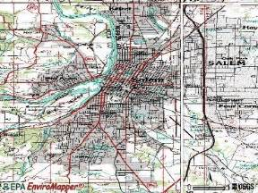 salem oregon or 97302 97306 profile population maps