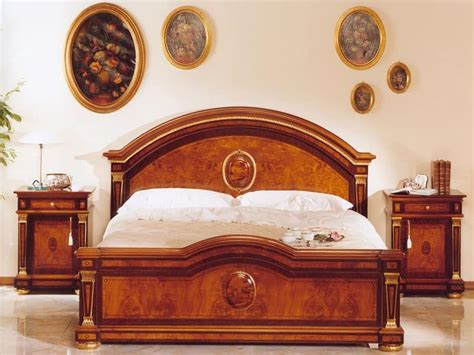 Baroque Bathroom Mirror Classic Luxury Double Bed In Wood For Castles Idfdesign