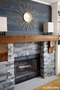 Fireplace Ideas With Stone Faux Stone Fireplaces On Pinterest Airstone Fireplace