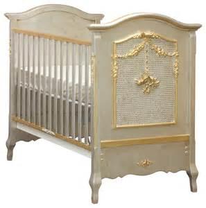 afk cherubini silver gold gilding crib