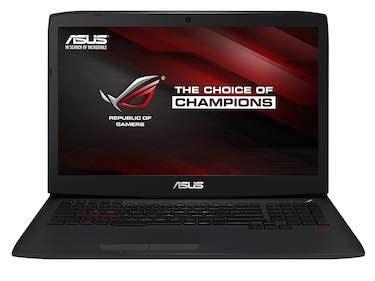 Asus Rog G751jy Db72 Gaming Laptop top 5 intel i7 processor laptops boldlist