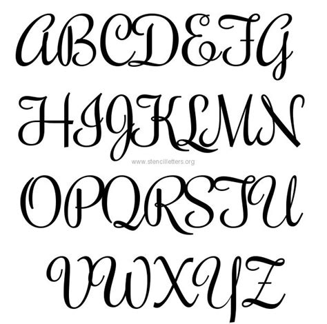 template font free 9 best images of free printable fancy alphabet letters