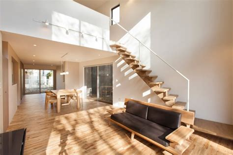 minimalist japanese small house architecture  interior