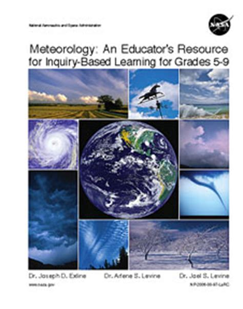 Meteorology Mba Program by Meteorology An Educator S Resource For Inquiry Based