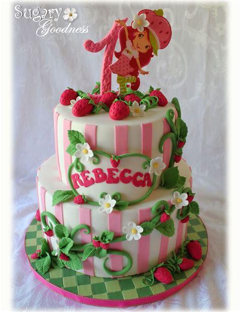 strawberry shortcake st birthday     cakes