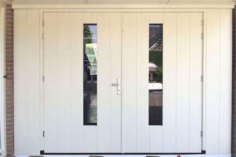 Houten Openslaande Garagedeuren by Openslaande Garagedeuren Hattem Different Doors