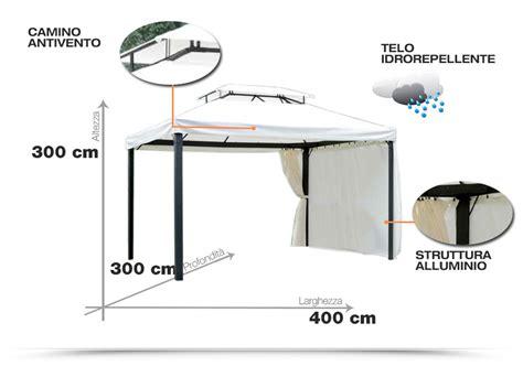 Teli Per Ombreggiare by Gazebo In Alluminio Ideale Per Ombreggiare E Proteggere