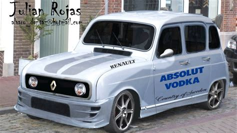 Image Gallery Renault 4 Tuning