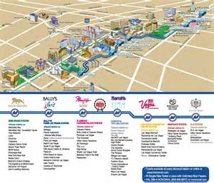 Las Vegas Hotels Map by Las Vegas Strip Hotels And Casinos Map