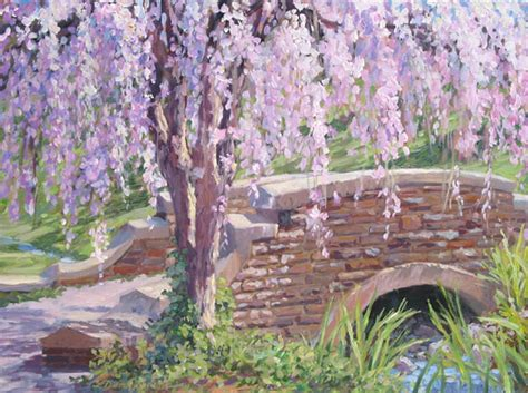 spring paint painting dressed for spring by artist l diane johnson